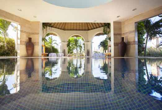 Enjoy relax at majestic resorts spas