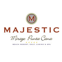 Majestic Mirage logo blanco
