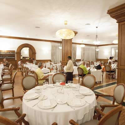 gourmet restaurant at majestic colonial