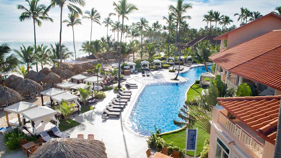 majestic elegance punta cana outdoor swimming pool view
