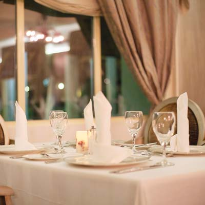 gourmet restaurant at majestic elegance