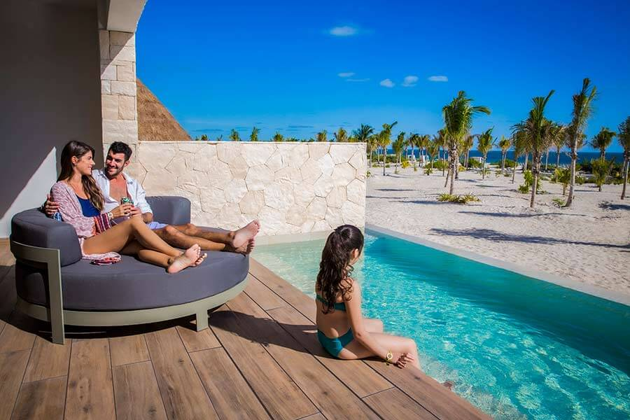 Junior Suite swip Up piscina majestic resorts