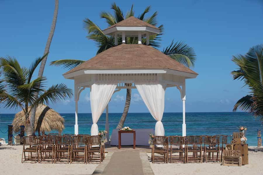majestic mirage punta cana beach gazebo