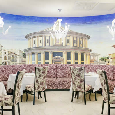 italian restaurant at majestic mirage